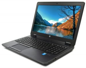"Portable HP Zbook 15"" i7-4"